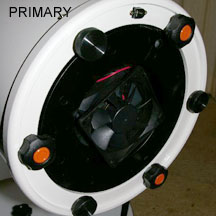 "Meade 8"" (20 cm) f/6 LIGHTBRIDGE Primario y Secundario"