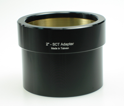 "SCT to 2"" Visual Back adapter"
