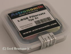 Astronomik LRGB Filter Set 1.25""